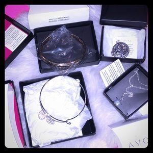 Avon Bracelets, Pendant, And Necklace